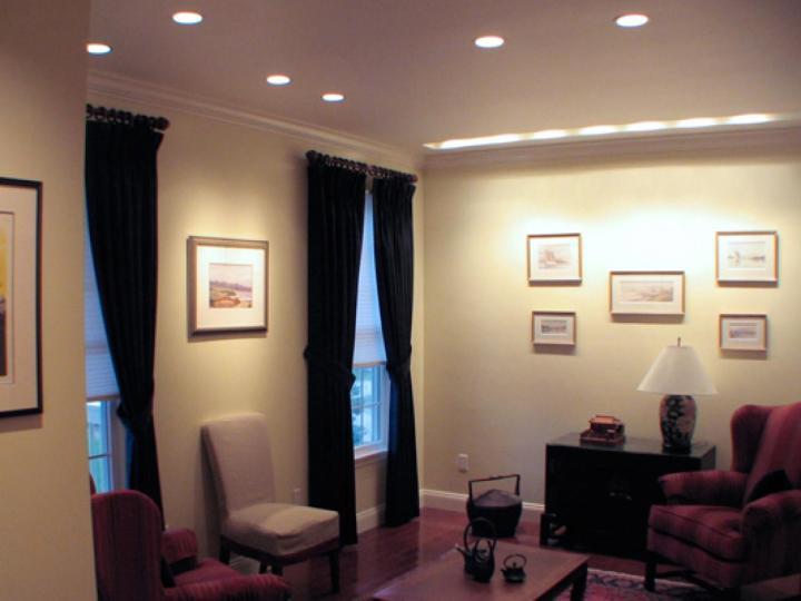 recessed light inspace design