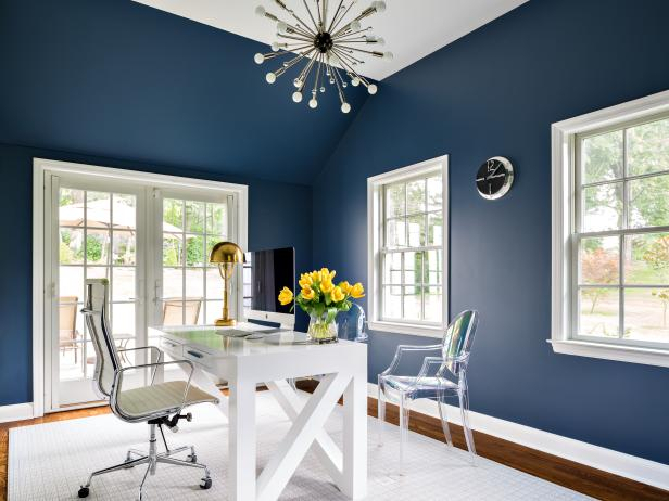 Inspace design company home office walls